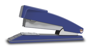 free vector Blue Stapler clip art