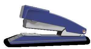 free vector Blue Stapler clip art
