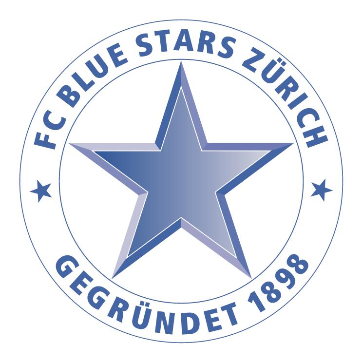 free vector Blue stars