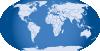 free vector Blue World Map clip art