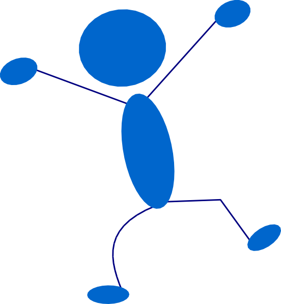 free vector Blueman clip art