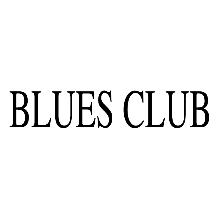 free vector Blues club