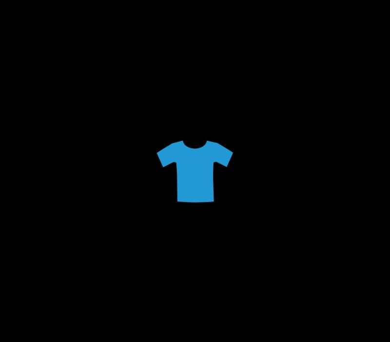 free vector Blueteeshirt