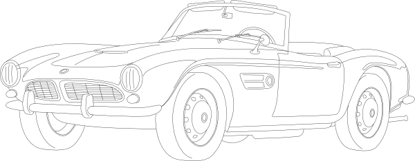 free vector Bmw clip art