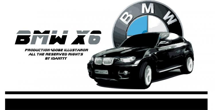 free vector Bmw x6