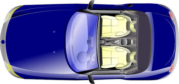 free vector Bmw Z Top View clip art