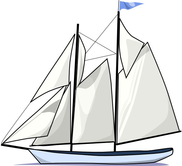 Sailing Boat Clipart Boat Sail Sideways Clip Art is