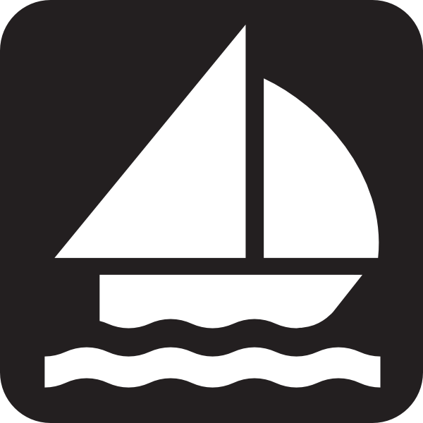 free vector Boat Sailing clip art