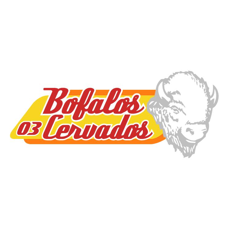 free vector Bofalos cervados 0