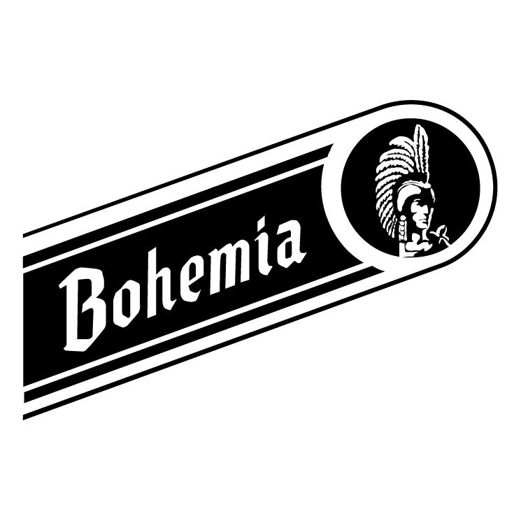 free vector Bohemia beer cerveza