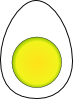 free vector Boiled Egg clip art
