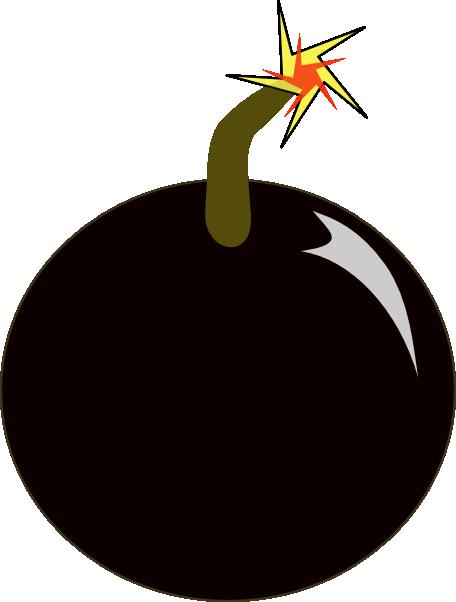 free vector Bomb clip art 118173