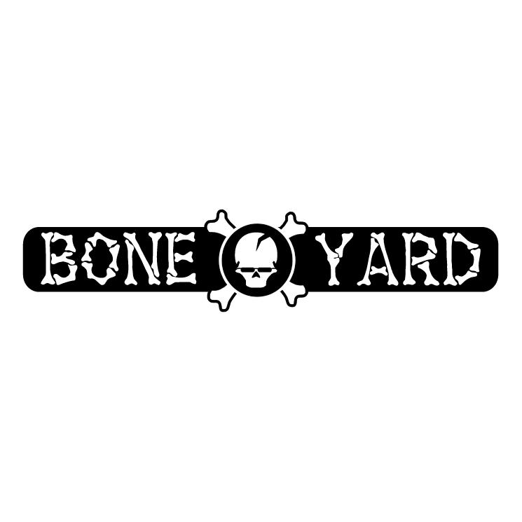 free vector Bone yard