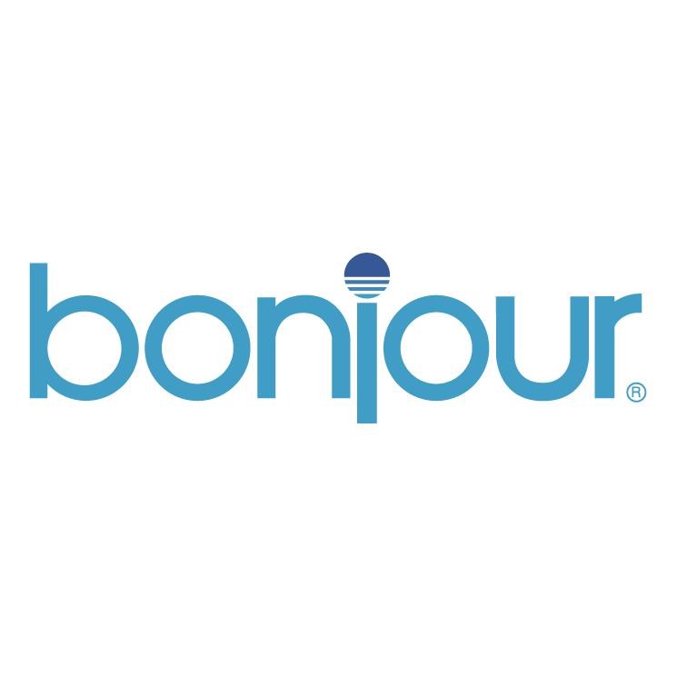 free vector Bonjour 1