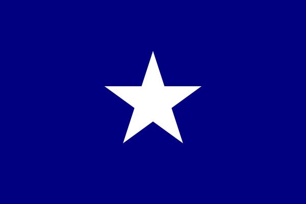 free vector Bonnie Blue Flag clip art