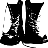 free vector Boots Shoes Clothing clip art