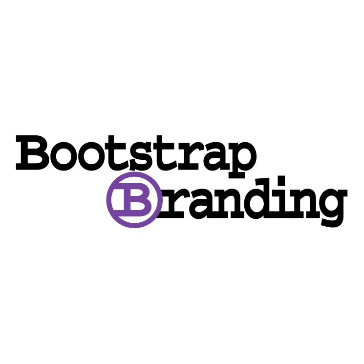 free vector Bootstrap branding