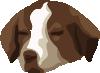 free vector Bored Dog clip art