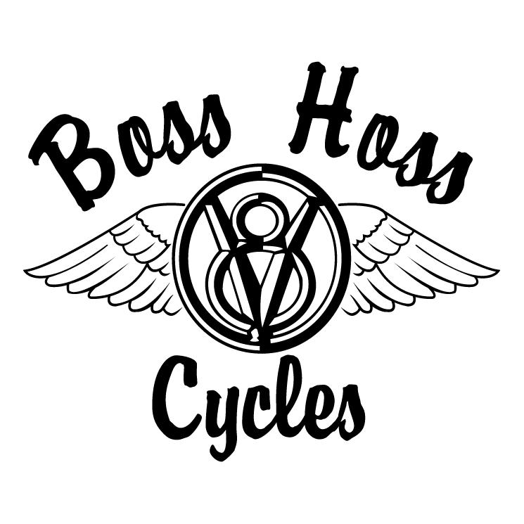 free vector Boss hoss cycles
