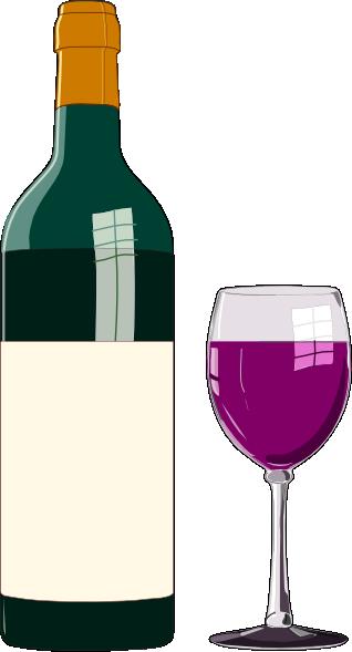 free vector Bottiglia Di Vino Pregiato clip art