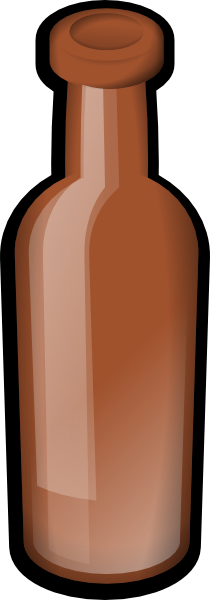 free vector Bottle clip art