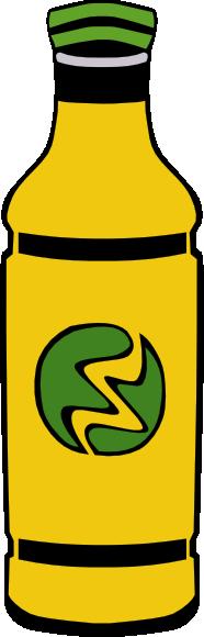 free vector Bottled Drink clip art