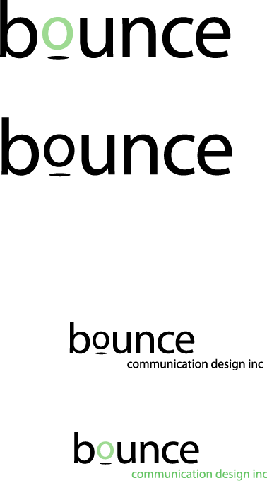 free vector Bounce communication design inc