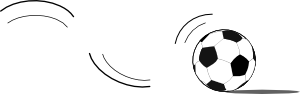 free vector Bouncing Soccer Ball clip art