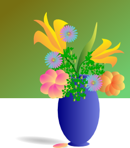 free vector Bouquet Of Flowers clip art
