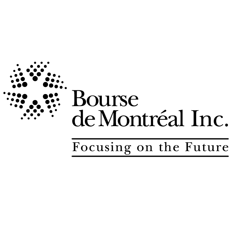 free vector Bourse de montreal