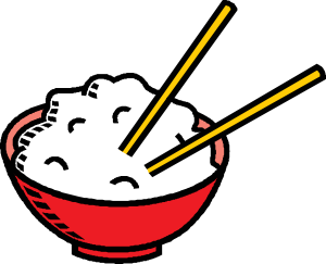 free vector Bowl Of Rice clip art