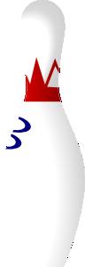 free vector Bowling Pin clip art