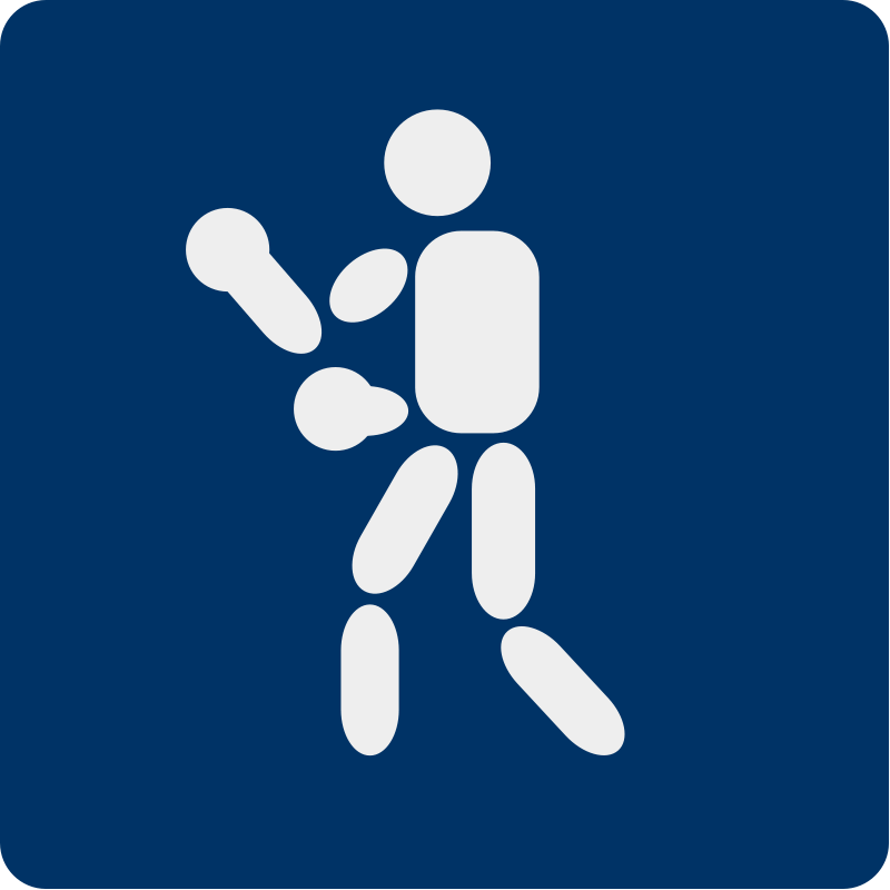 free vector Boxing pictogram