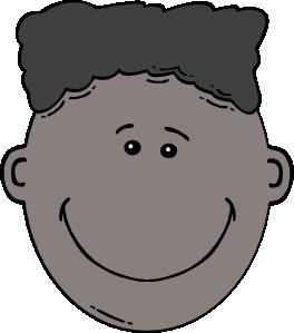 free vector Boy Face Cartoon clip art