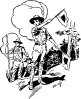 free vector Boy Scouts clip art