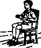 free vector Boy Sitting In Chair clip art
