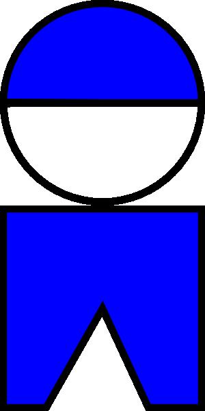 free vector Boy Symbol 01 clip art