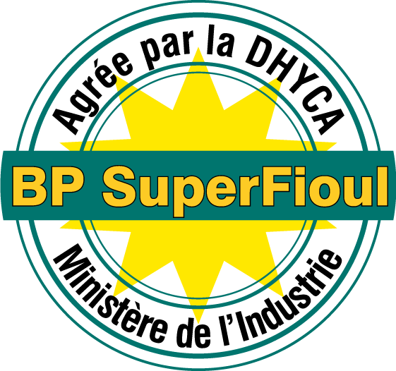 free vector BP SuperFioul logo