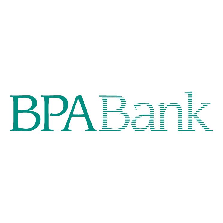 free vector Bpa bank