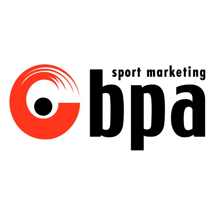 free vector Bpa sport marketing