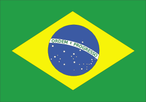 Brazil Flag Ribbon