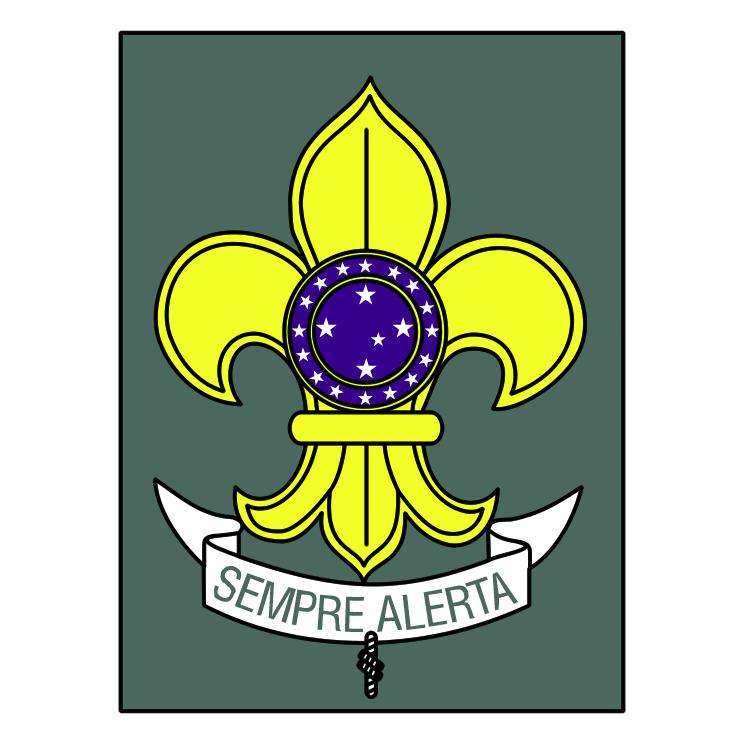 free vector Brazilian scouts union