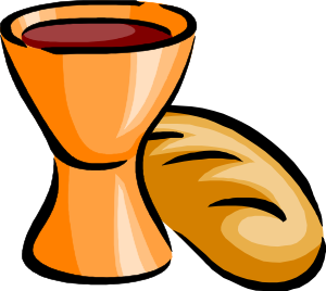 free vector Bread And Wine clip art