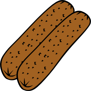 free vector Breakfast Sausage clip art