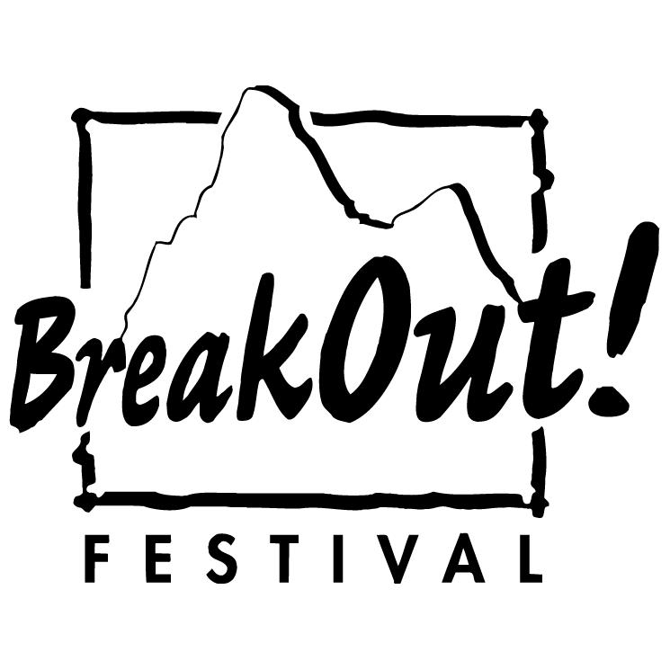 free vector Breakout festival