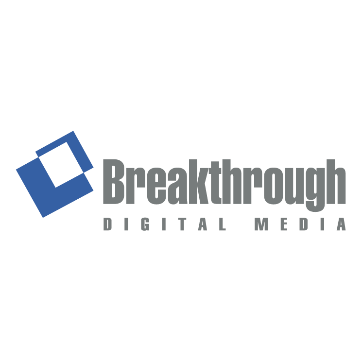 free vector Breakthrough digital media