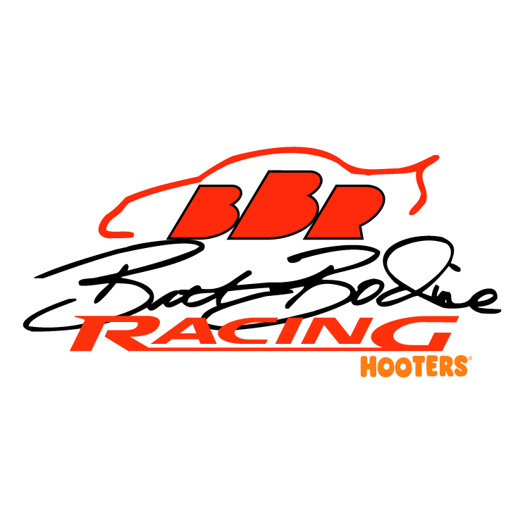 Brett bodine racing Free Vector / 4Vector
