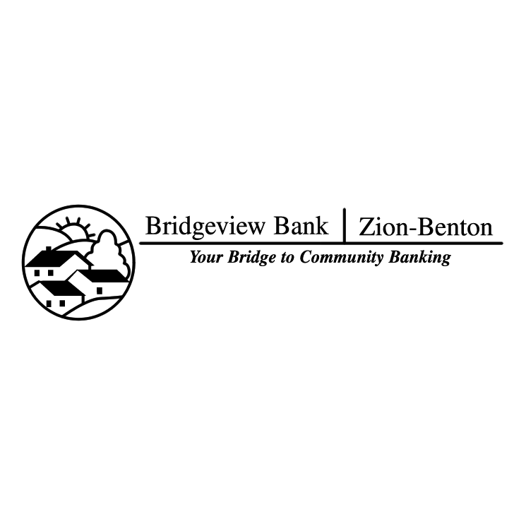 free vector Bridgeview bank