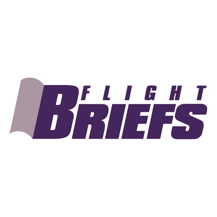 free vector Briefs flight