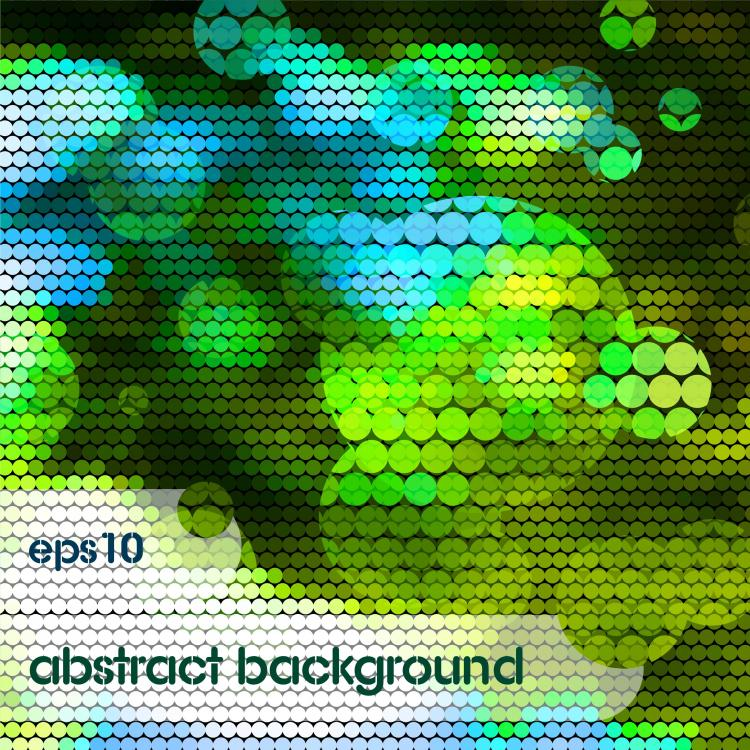 free vector Bright mosaic design background vector 1